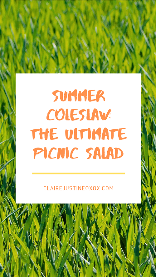Summer Coleslaw: The Ultimate Picnic Salad