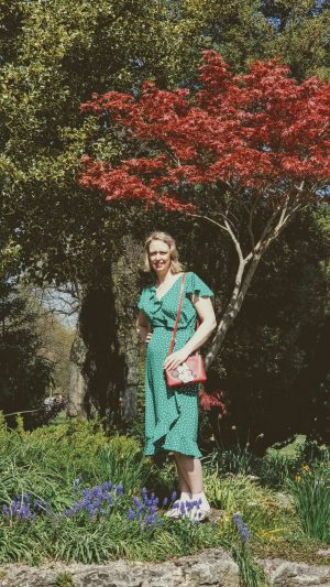 Green Polka Dot Dress And A Visit To Queens Park