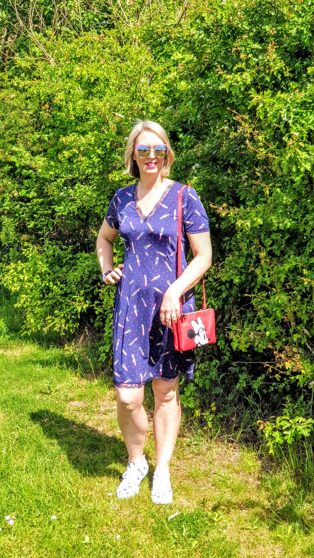 Lipstick Dress Powered And Paint #LinkUp
