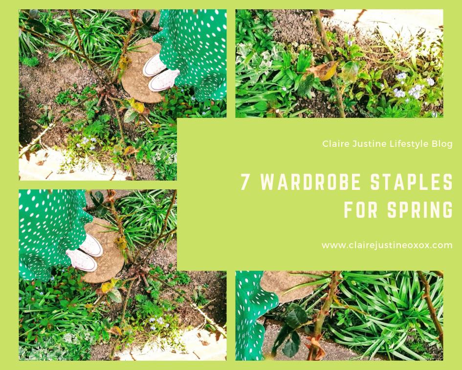 7 Wardrobe Staples For Spring