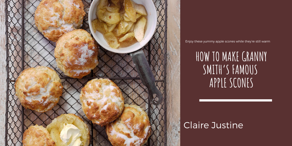 How To Make Granny Smith's Famous Apple Scones.