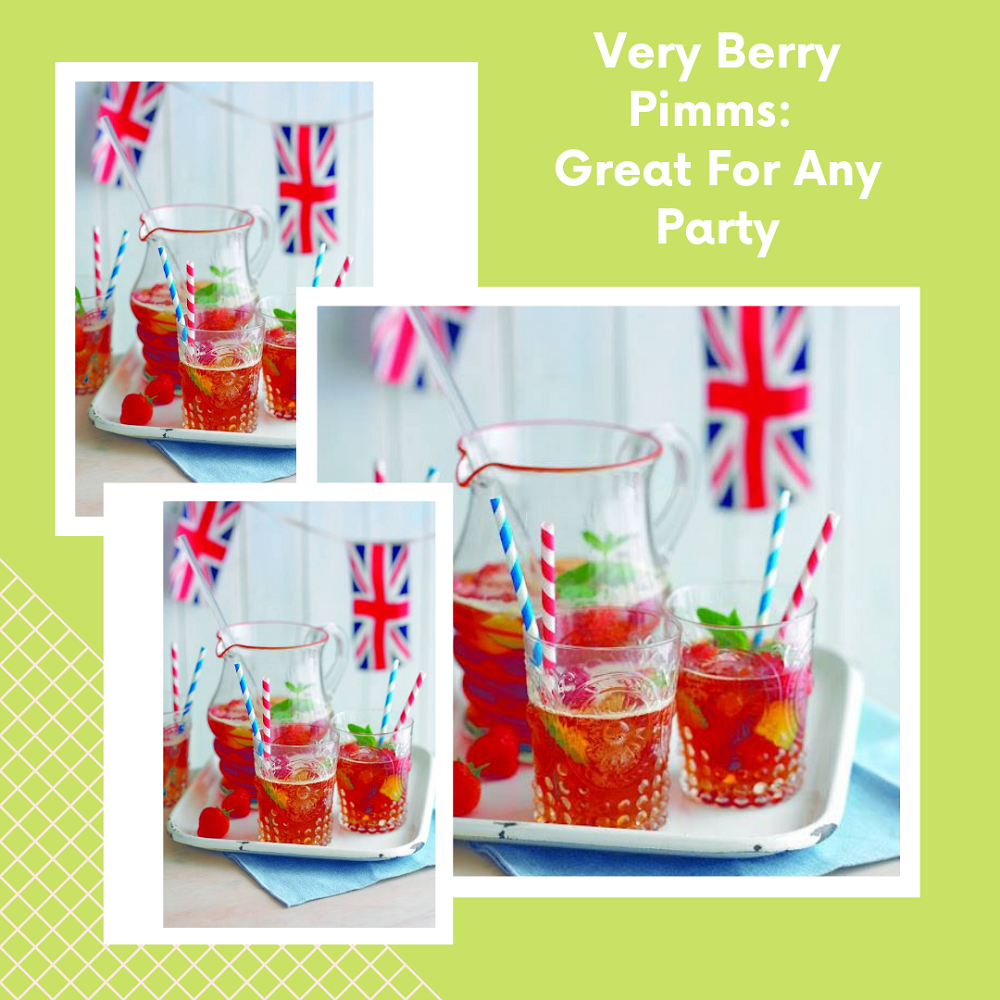 Very Berry Pimms: Great For Any Party
