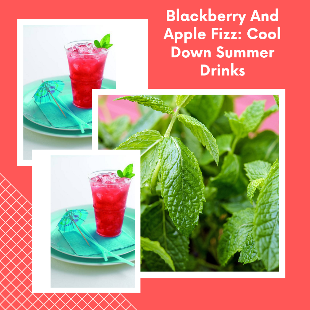 Blackberry And Apple Fizz: Cool Down Summer Drinks