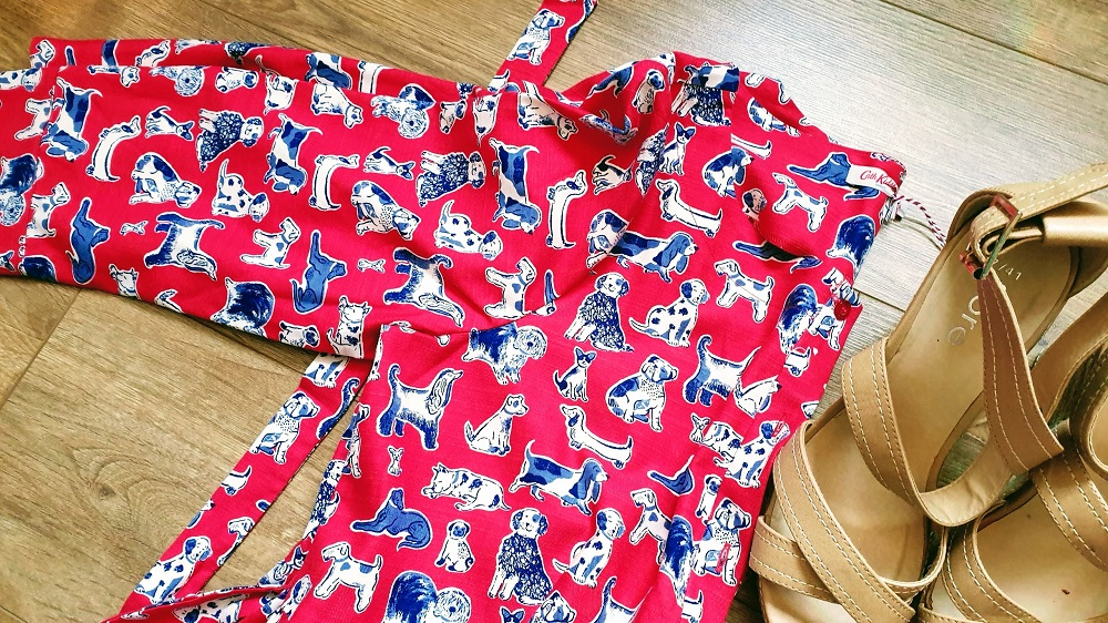 Red & Dog's Cath Kidston Dress #WednesdayLinkUP