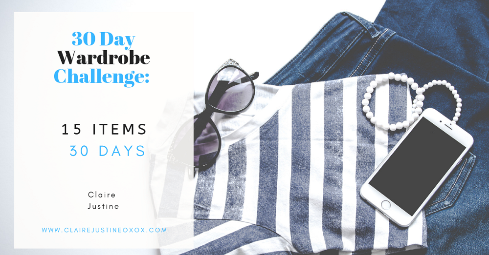 30 Days Wardrobe Challenge:  15 Days In
