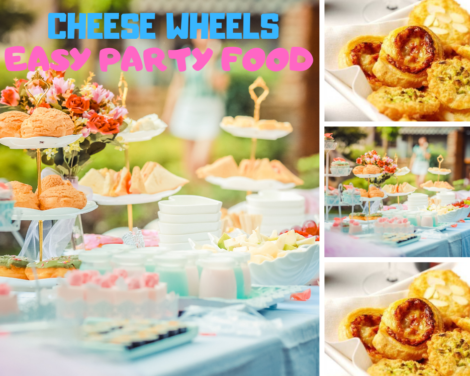 Cheese Wheels: Easy Party Food And Tastes Great
