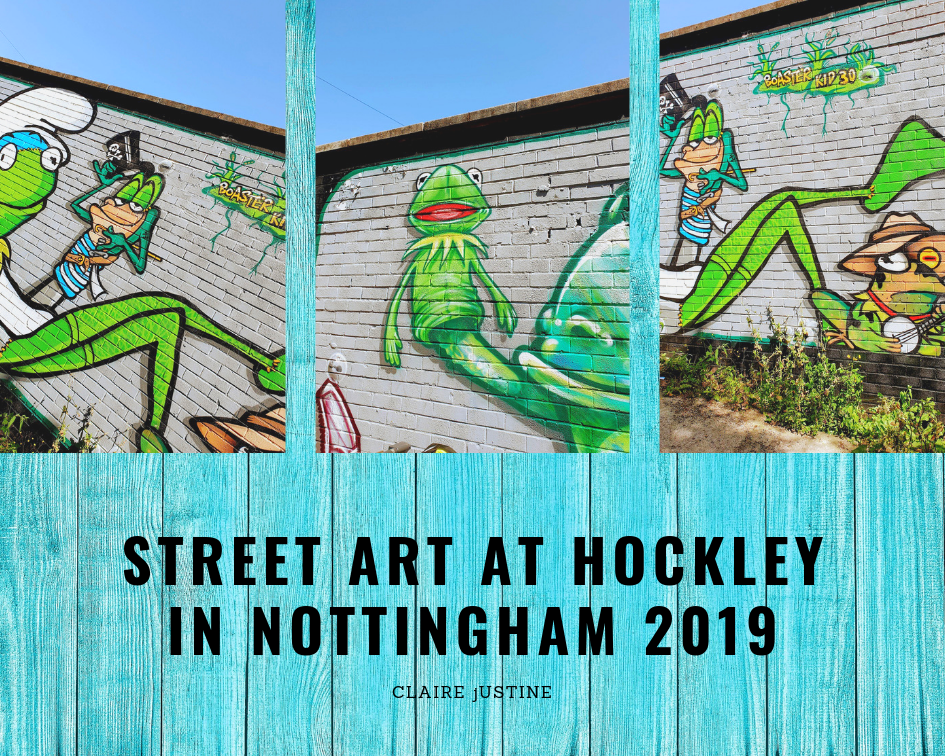 Street Art At Hockley In Nottingham 2019 #LinkUp