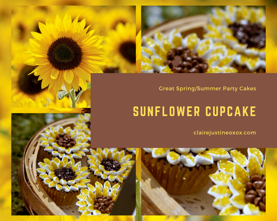 Sunflower Cupcake: Great Spring/Summer Party Cakes.
