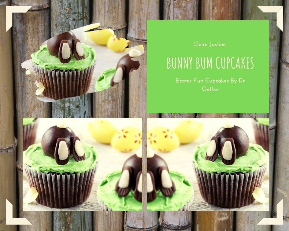 Bunny Bum Cupcakes: Easter Fun Cupcakes By Dr Oetker