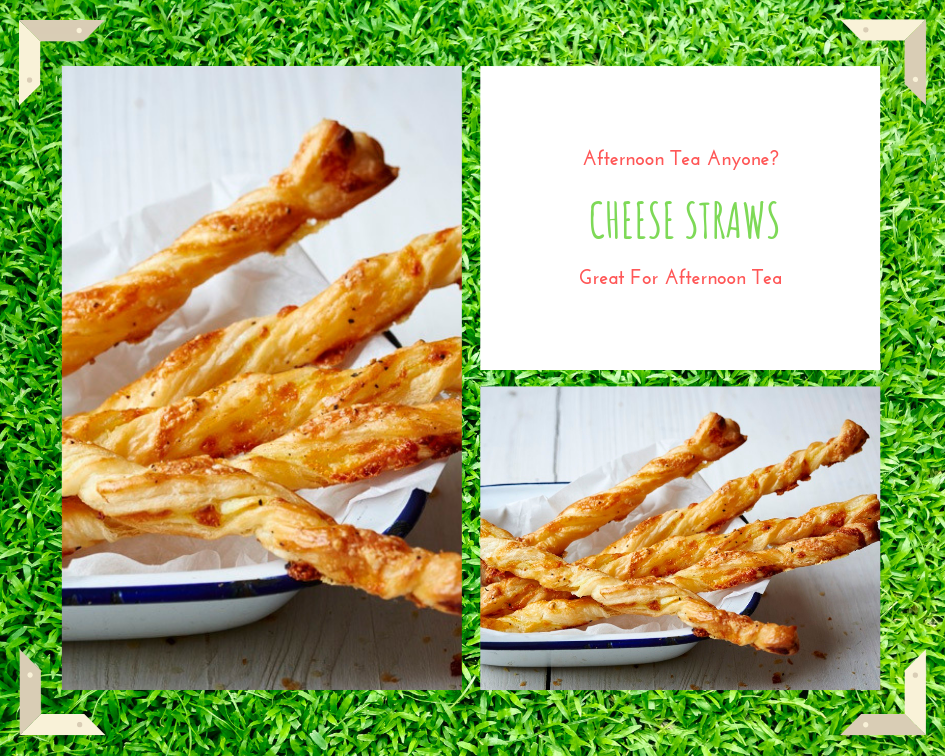 Cheese Straws: Great For Party, Picnic, Afternoon Tea