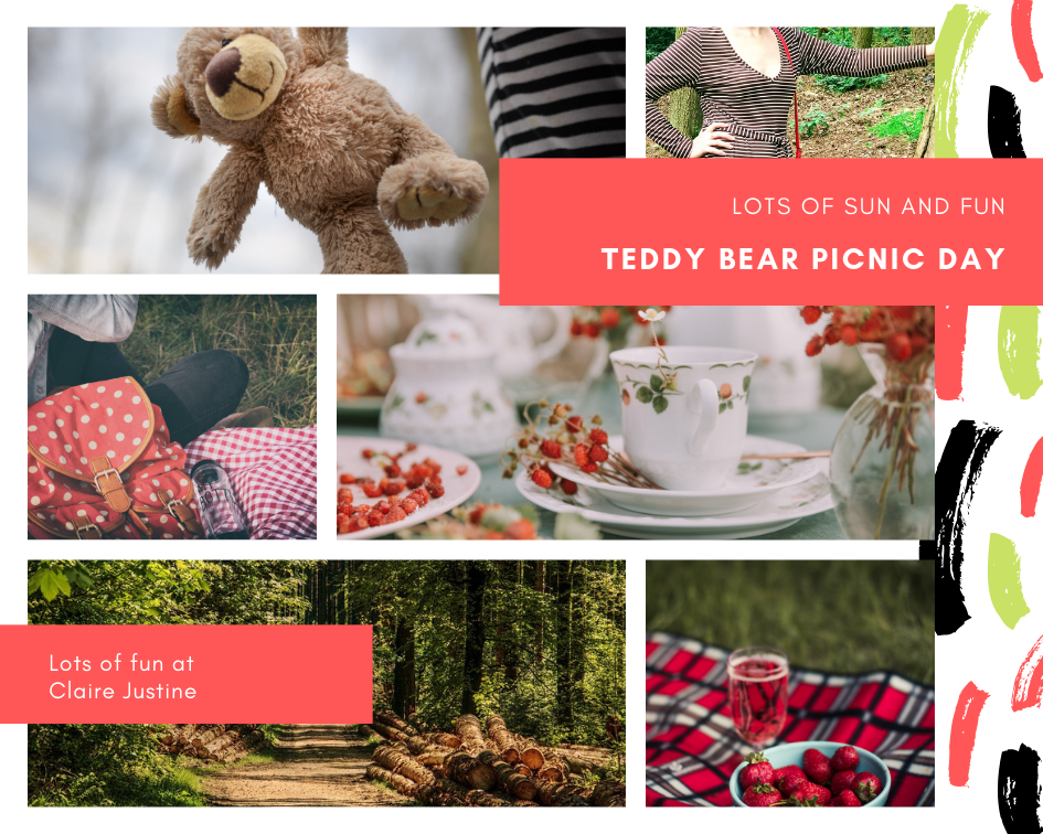 Teddy Bear Picnic Day: The Wednesday Link Up
