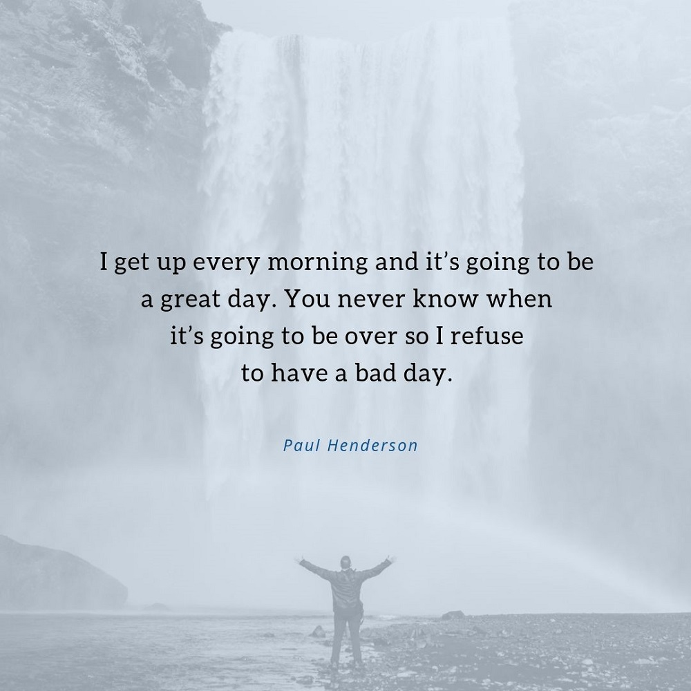 Fitness Friday: I Get Up Every Morning...