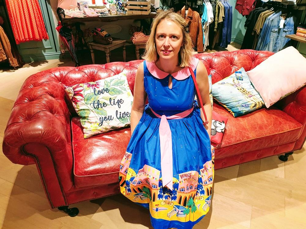 Venice Beach Swing Dress: The Wednesday Link Up