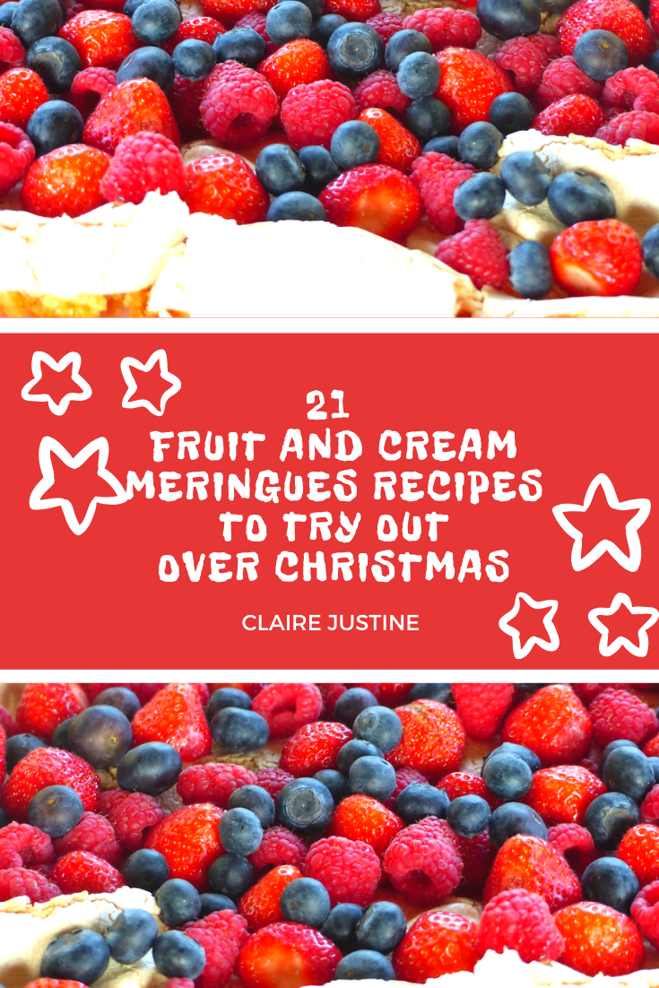 21 Fruit And Cream Meringues Recipes To Try