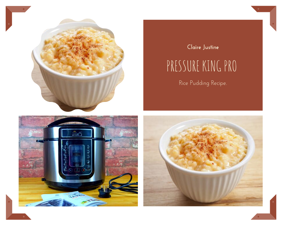 Pressure King Pro Rice Pudding Recipe