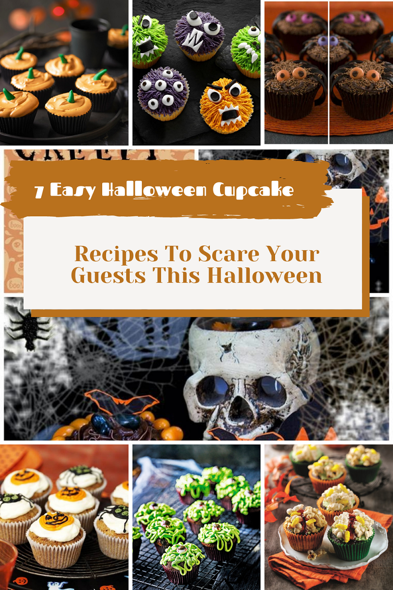 7 Easy Halloween Cupcake Recipes To Scare Your Guests