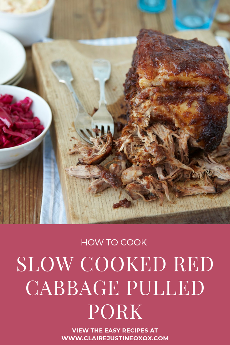 How To Cook Slow Cooked Red Cabbage Pulled Pork