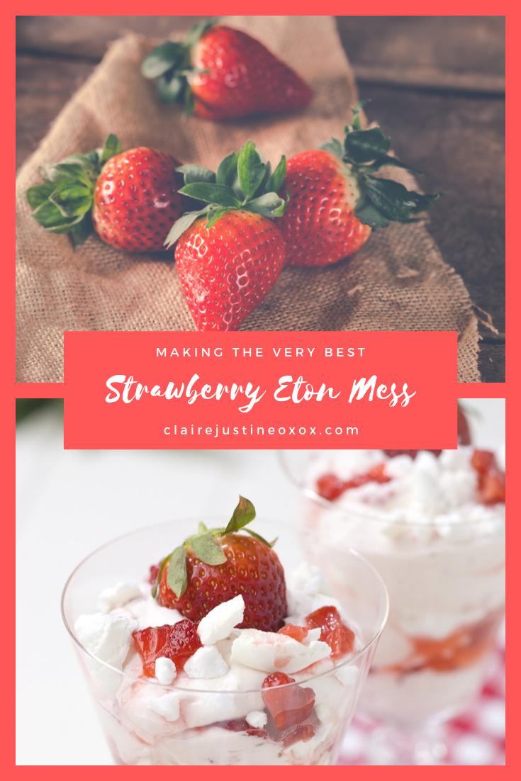 Strawberry Eton Mess: Afternoon Tea Recipe