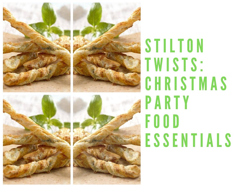 Stilton Twists: Christmas Party Food Essentials.