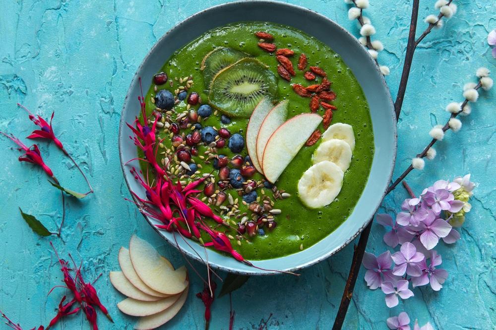 Watercress Breakfast Smoothie Bowl