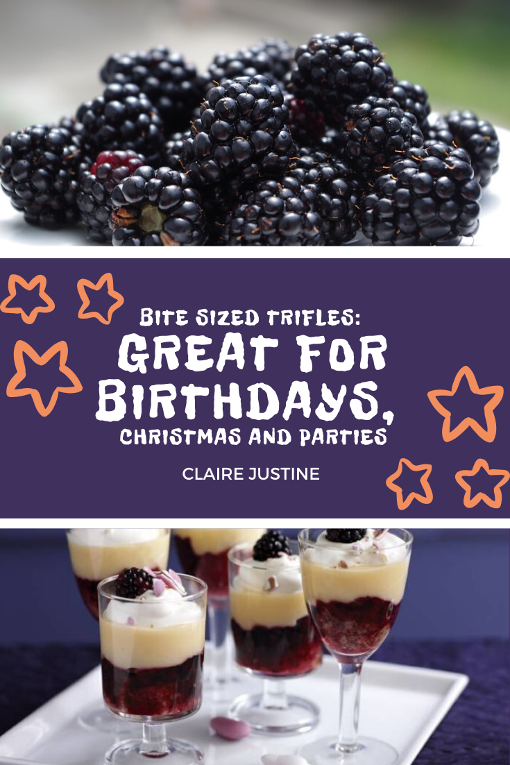 Bite Sized Trifles: Great For Birthdays, Christmas And Parties