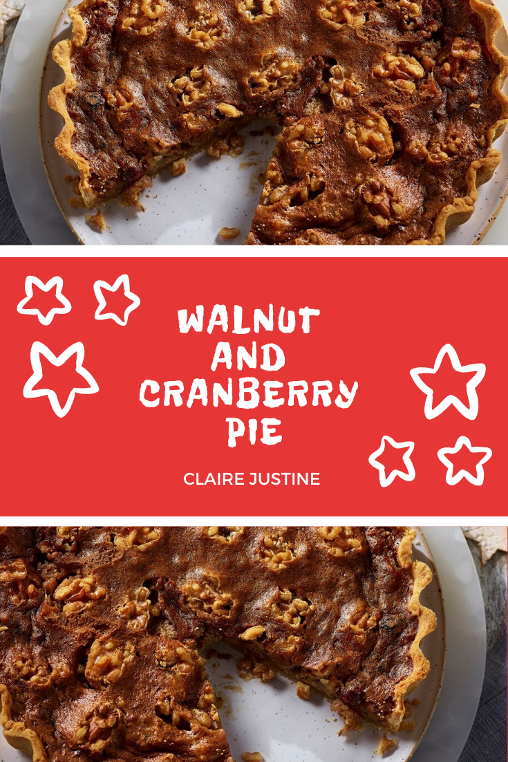 Walnut And Cranberry Pie: Christmas Cracked!!