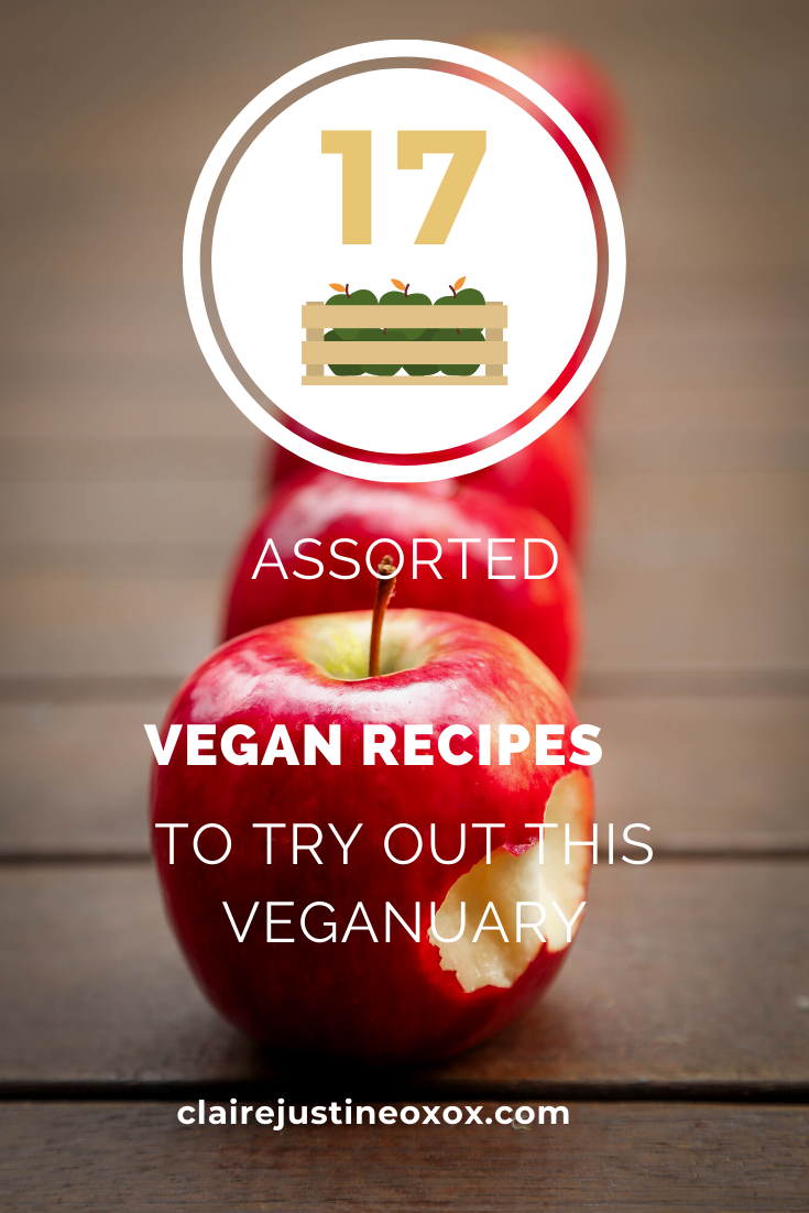 17 Assorted Vegan Recipes To Try Out This Veganuary