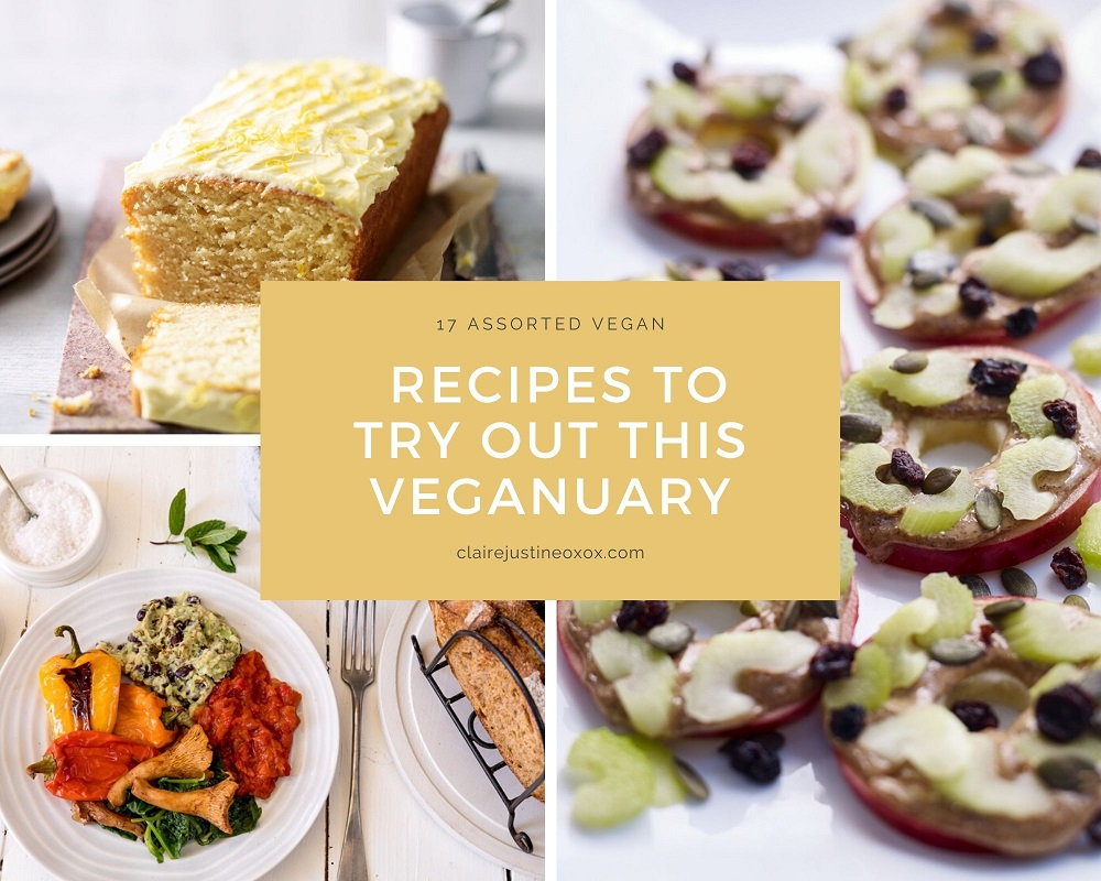 17 Assorted Vegan Recipes To Try This Veganuary #Linky