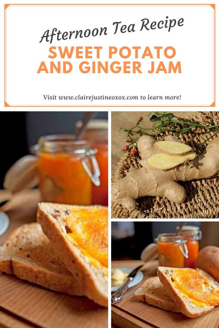 Sweet Potato And Ginger Jam Recipe: