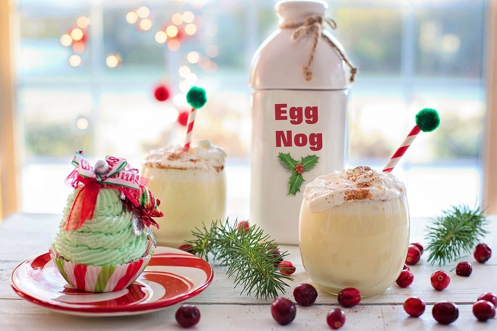 Wed 24th Dec: Egg Nog Day: Cheers I Will Raise A Glass