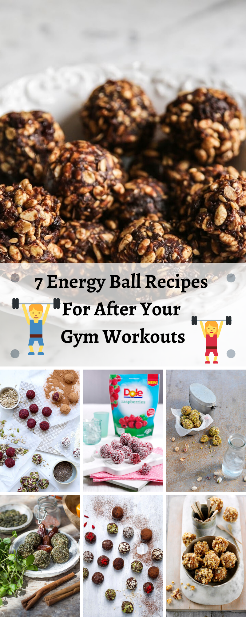 7 Energy Ball Recipes For After Your Gym Workouts