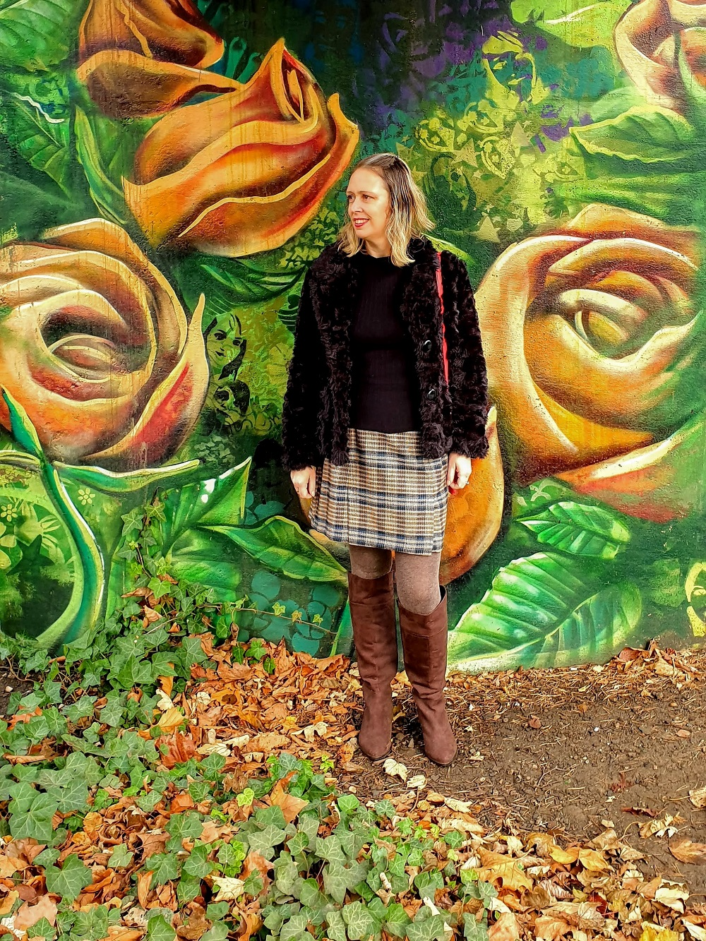 Street Art Chesterfield And An Over 40 Outfit Post