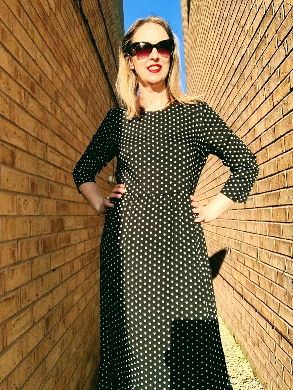 All Polka Dotty Dressed Up And Nowhere To Go