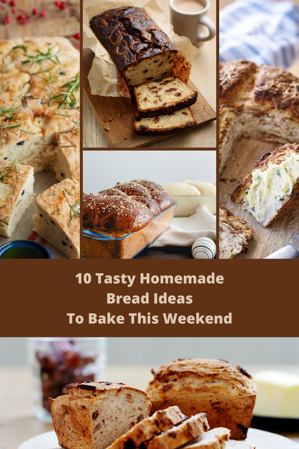 10 Tasty Homemade Bread Ideas To Bake & Link Up