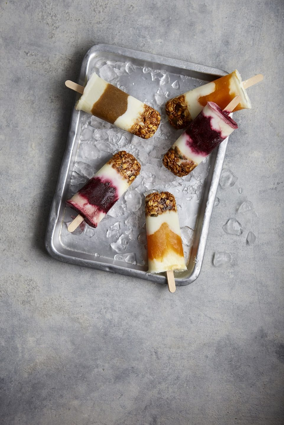 Breakfast Compote Lollies
