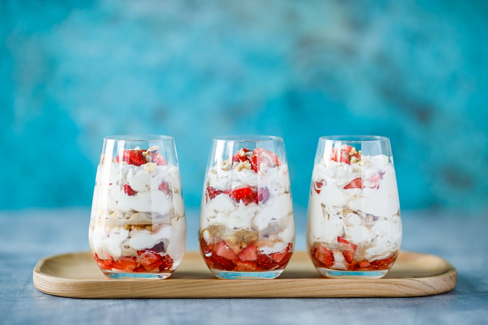 Coffee And Hazelnut Eton Mess: Mother's Day Recipe