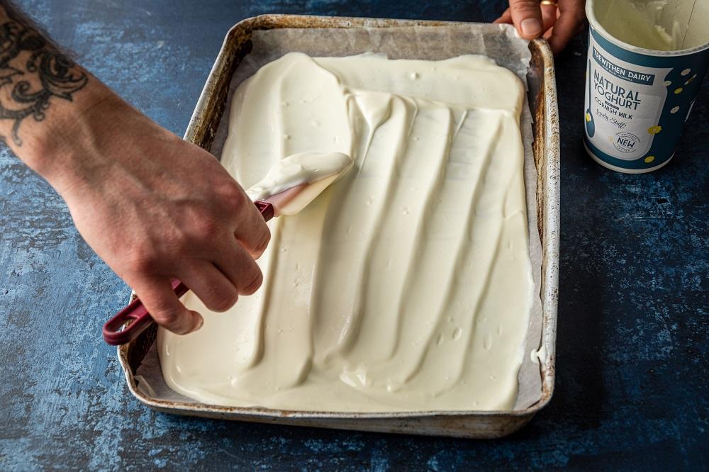 Frozen Yoghurt Bark Recipe: Help Get The Kids Creative
