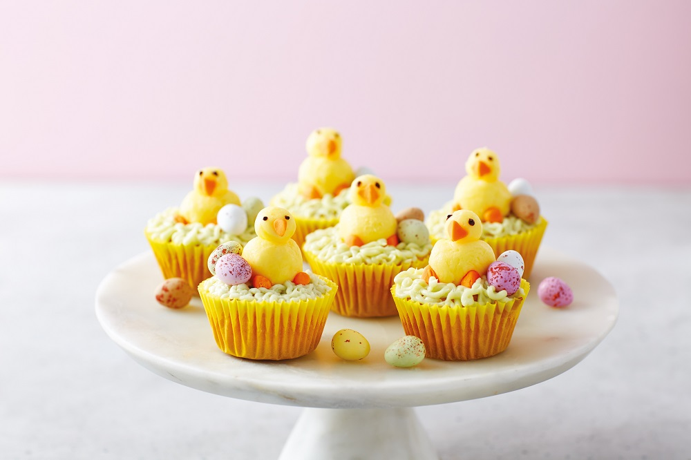 Aldi's Easter Chick Cupcakes: