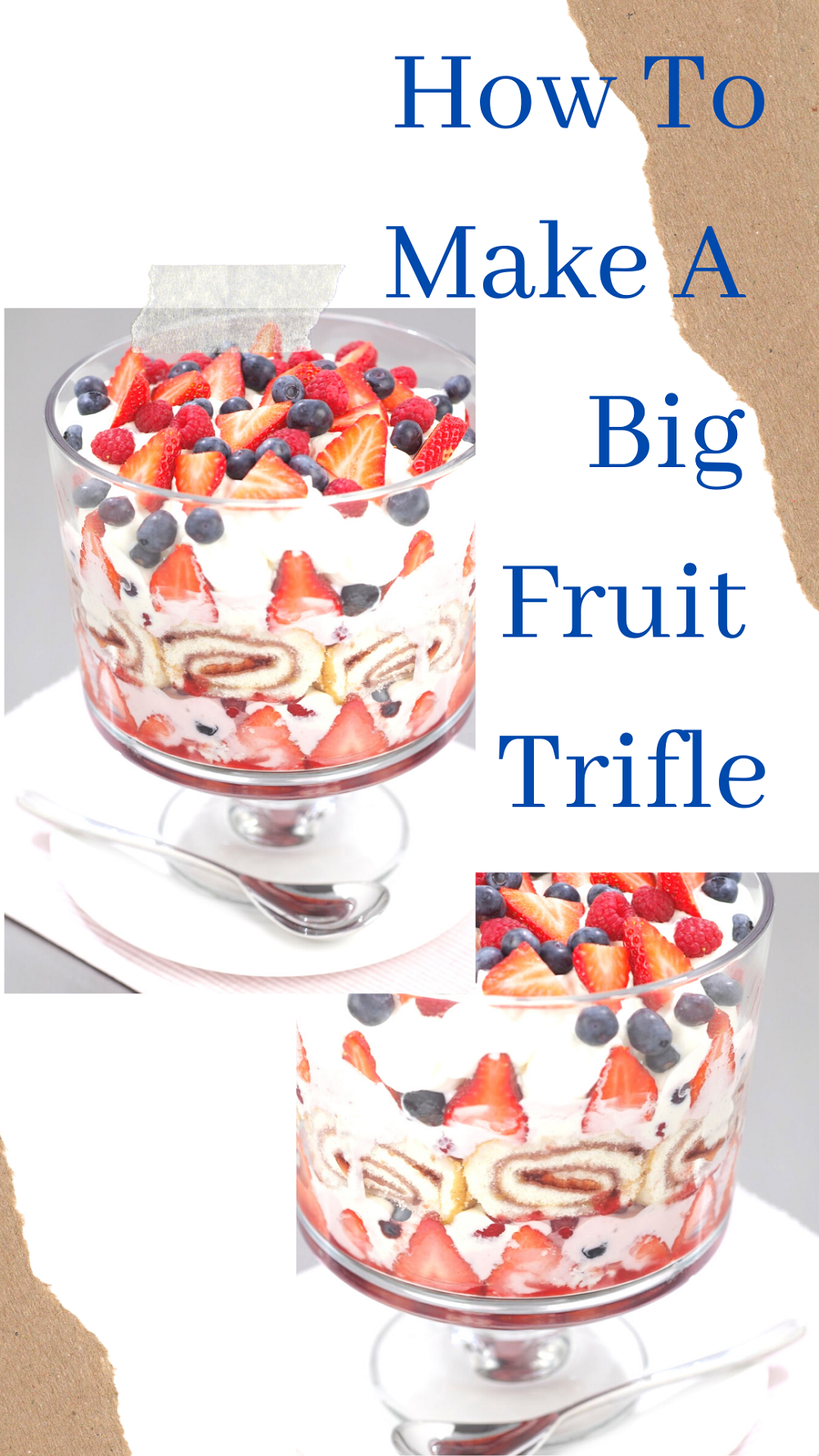 Big Fruit Trifle: Celebrations Not Complete Without One