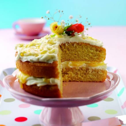 Ginger And Lemon Cake: Great For Afternoon Tea: