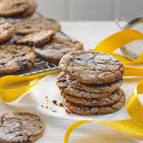 Scrumple Nutty Cookies