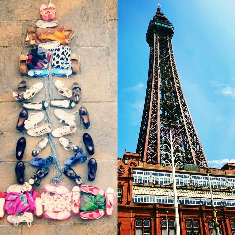 7 Years Ago I Created Blackpool Tower From Shoes