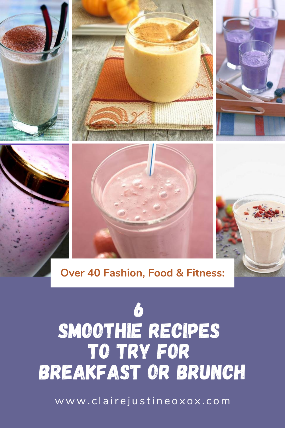 6 smoothie recipes