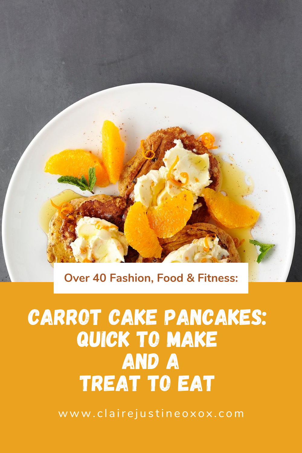 Carrot Cake Pancakes: Quick To Make And A Treat To Eat