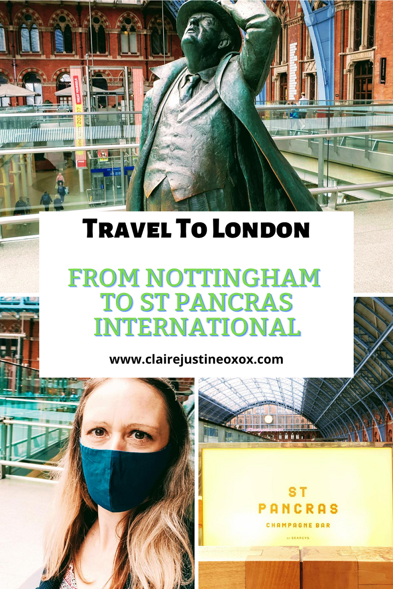 Travelling From Nottingham To St Pancras International