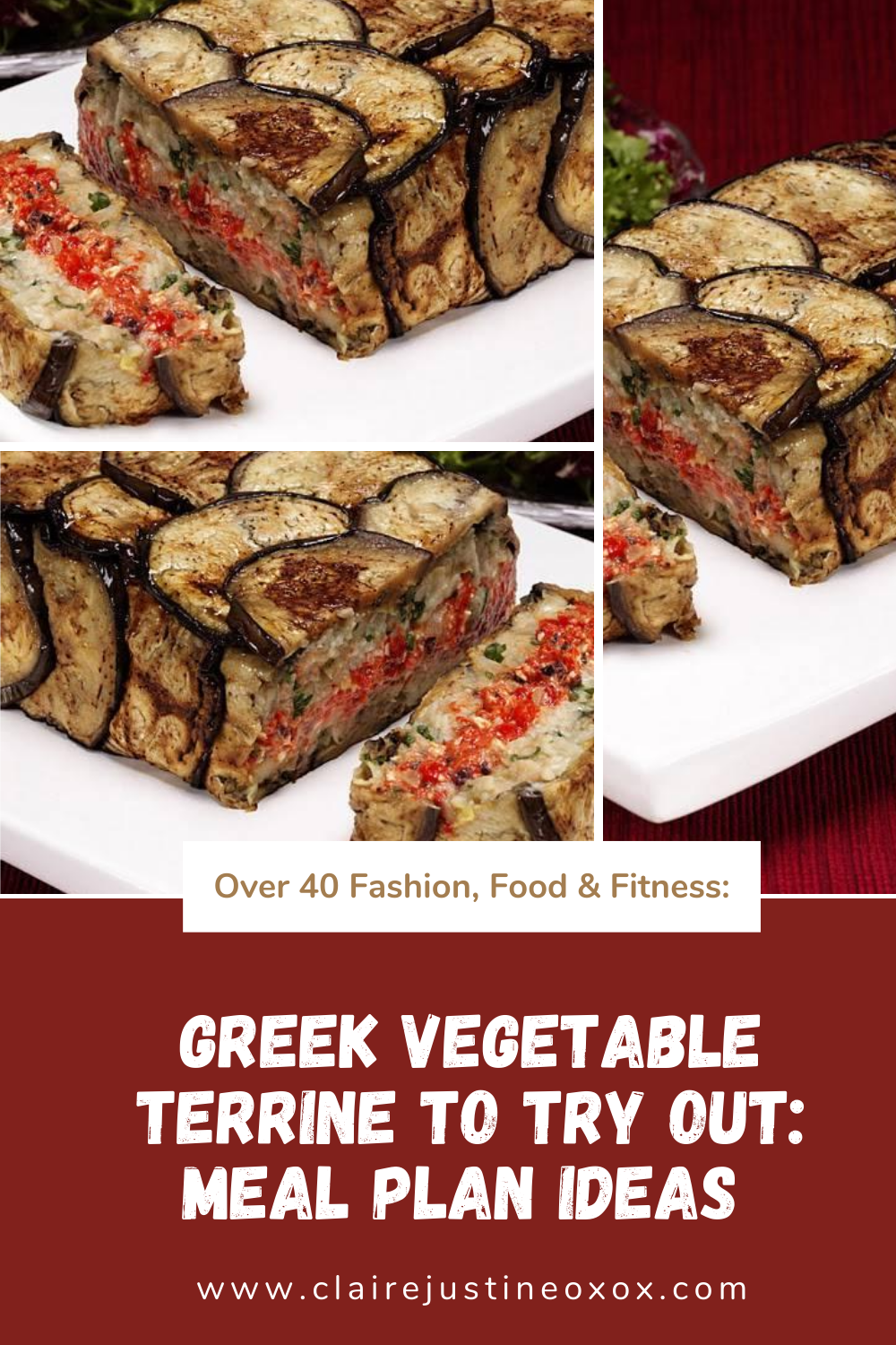 Greek Vegetable Terrine To Try Out: Meal Plan Ideas