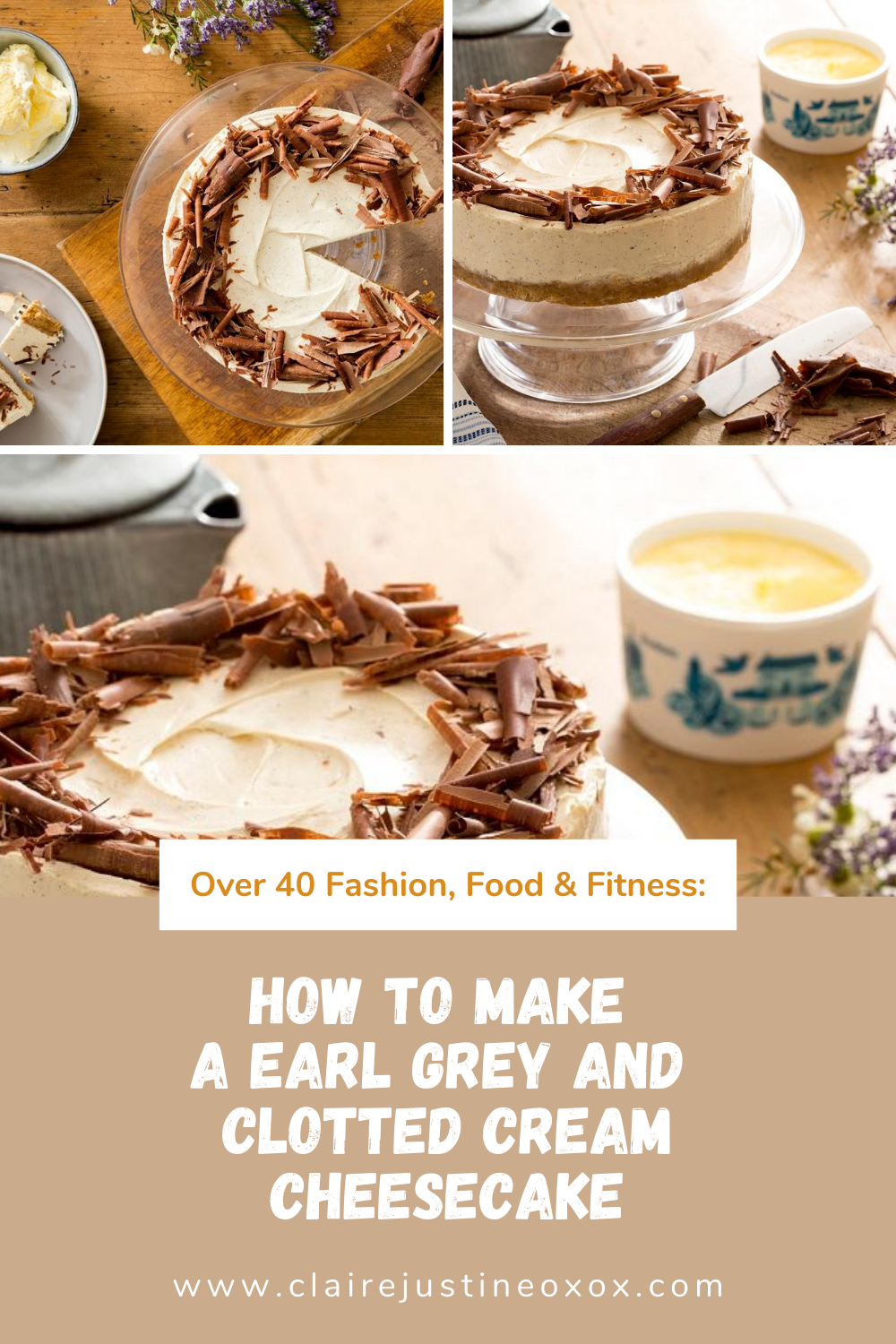 Earl Grey And Clotted Cream Cheesecake To Make Today