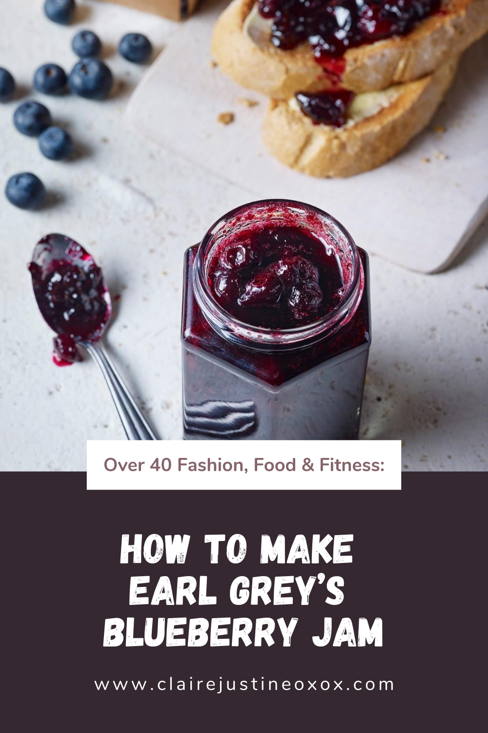 How To Make Earl Grey's Blueberry Jam