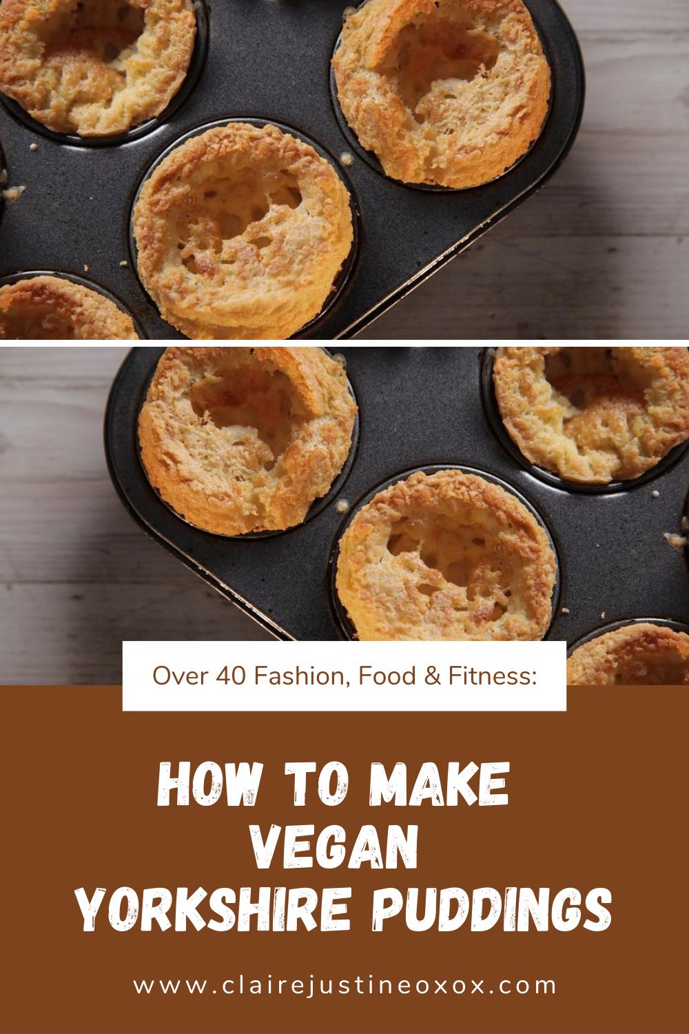 How To Make Vegan Yorkshire Puddings.