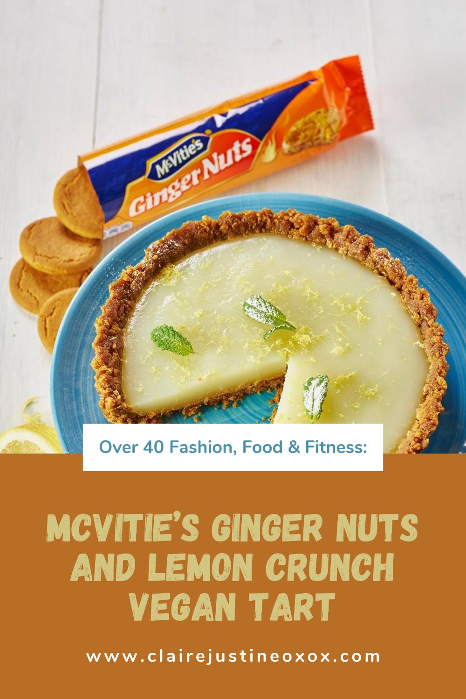 McVitie's Ginger Nuts and Lemon Crunch Vegan Tart